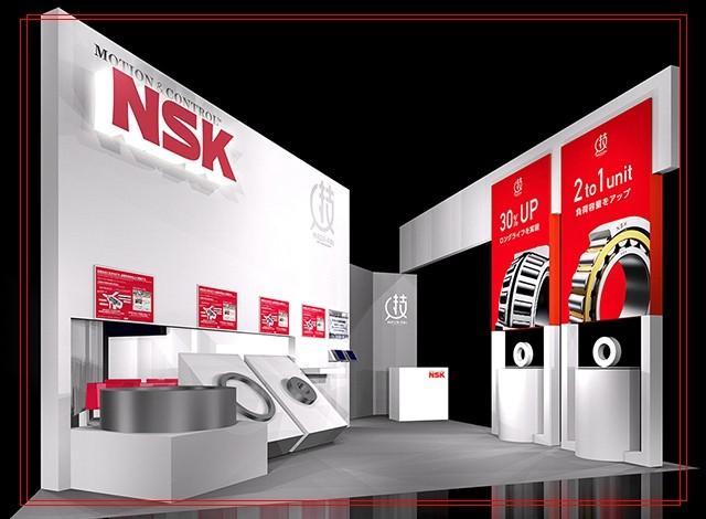 NSK 7203BWDT Tandem Single-Row Angular Contact Ball Bearings