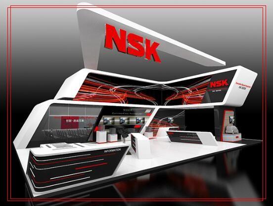 NSK 7919CDB Back-to-Back Single-Row Angular Contact Ball Bearings